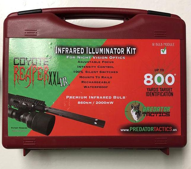 New Predator Tactics Coyote Reaper XXL Infrared Light Kit Model # 97434
